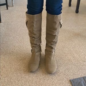 BCBG slouch boots